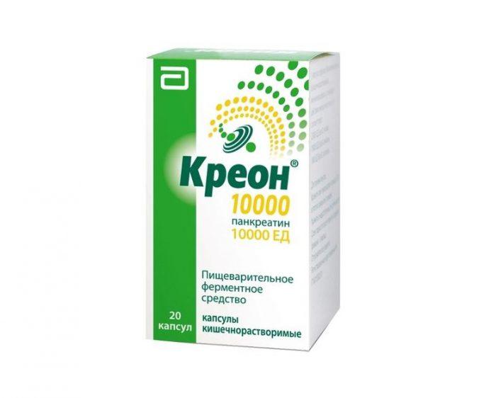 Пример препарата Креон